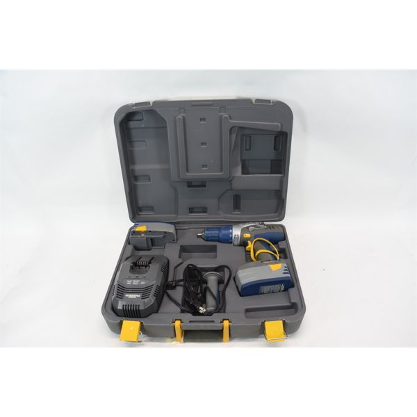 Mastercraft Maximum Rechargeable Drill in Carrying Case