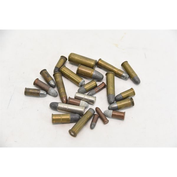 23 Assorted Rounds Pistol/Revolver Ammunition