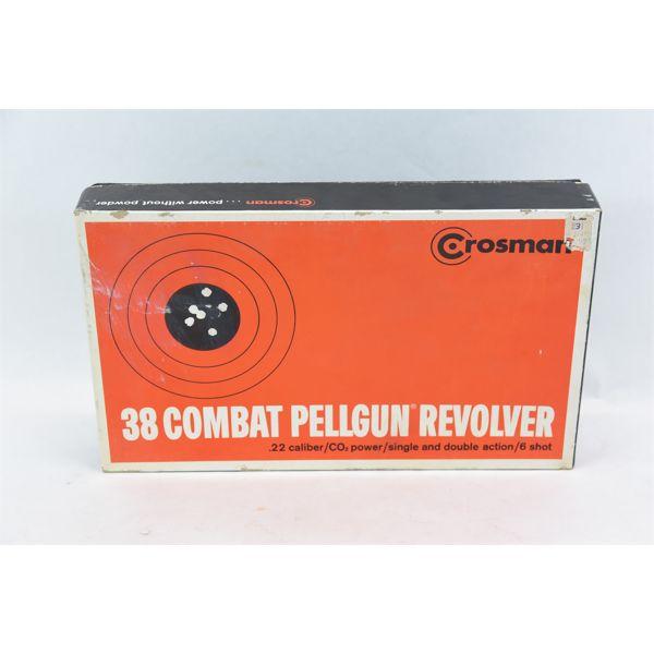 Crosman 38 Combat Pellgun Revolver
