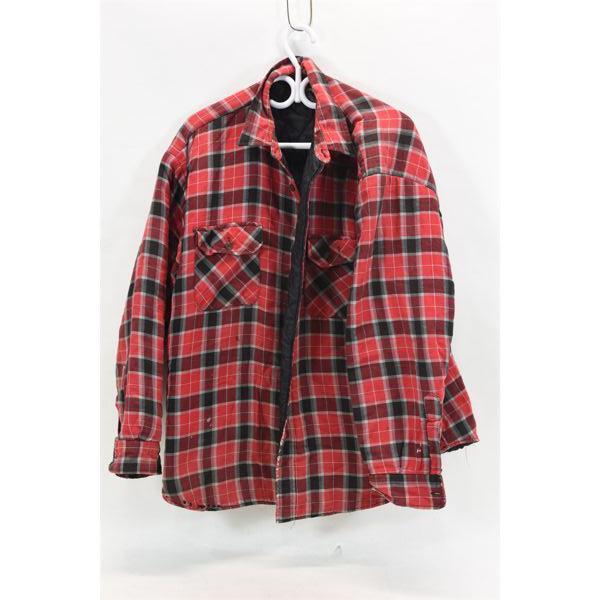 Saratoga Plaid Jacket Size XL
