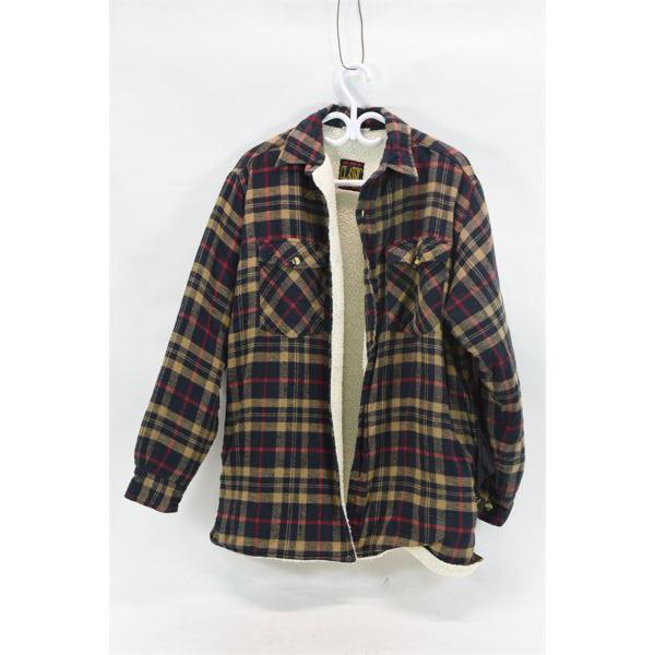Classic Ten West Plaid Coat w/ Lining