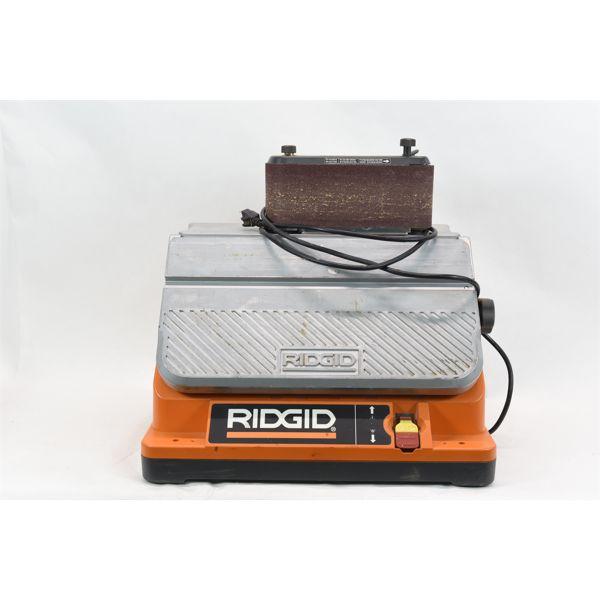 Ridgid Oscillating Belt Sander Model EB44241