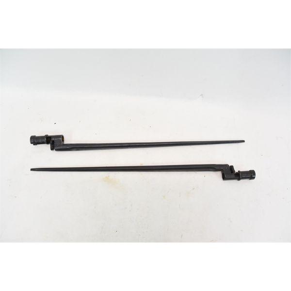 2 Mosin Nagant 91/30 Bayonets Marked 665 / 8334