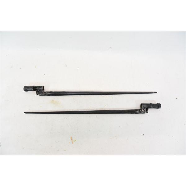 2 Mosin Nagant 91/30 Bayonets Marked 6581 / 234