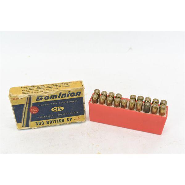 Box Lot Rifle Ammunition