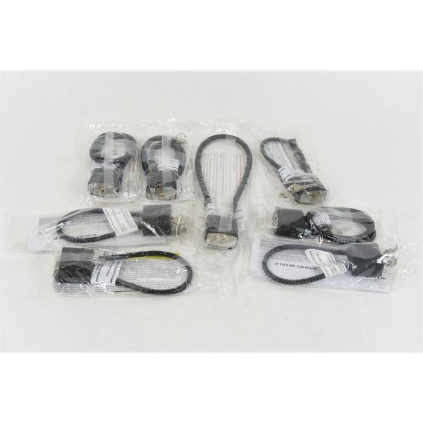 Gun Cable Locks Assortment of Lengths