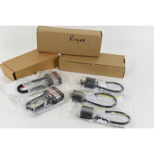 5 Ruger Trigger Locks & 3 Short Cable Locks