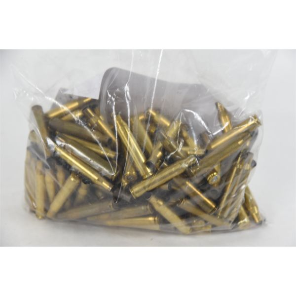 129 Pieces Once-Fired .223 Brass