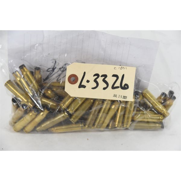 66 Pieces .308 Winchester Once-Fired Brass