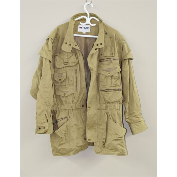 Multi-Pocket Coat w/ Removable Sleeves