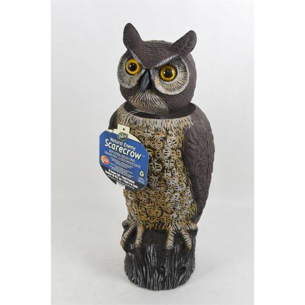 New Owl Decoy w/ Rotating Head