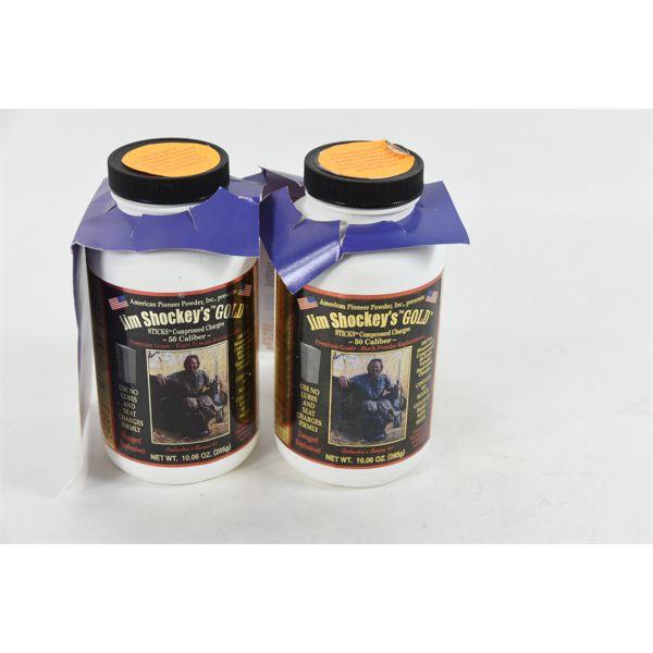 Jim Shockey's Gold Sticks Compressed 50 Cal Muzzleloader Ignition Charges 2 x 10 oz
