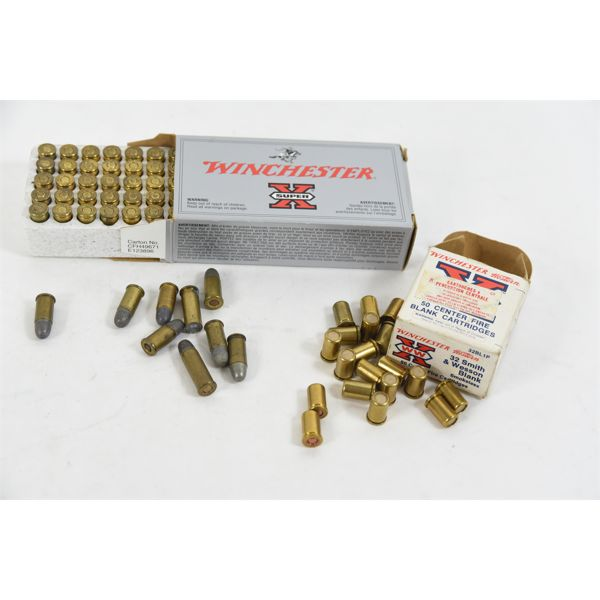 Box Lot 32 S& W Ammunition