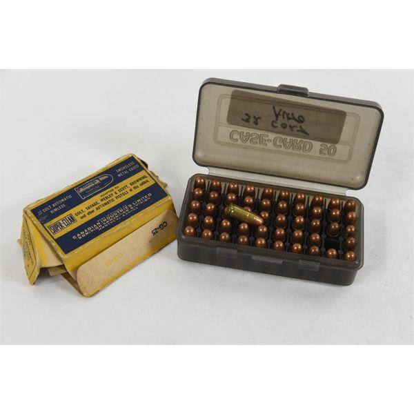 50 Rounds Dominion Super Clean 32 Colt Automatic