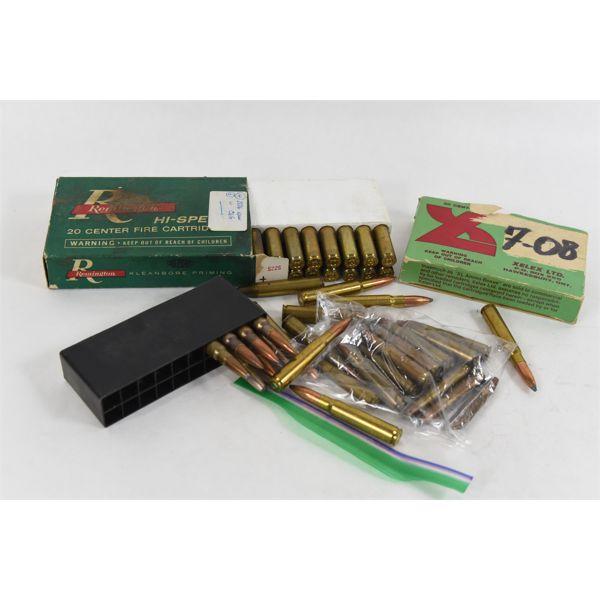 Box Lot Assorted Rifle Cartridges