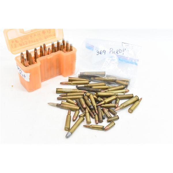 Box Lot Assorted Ammunition