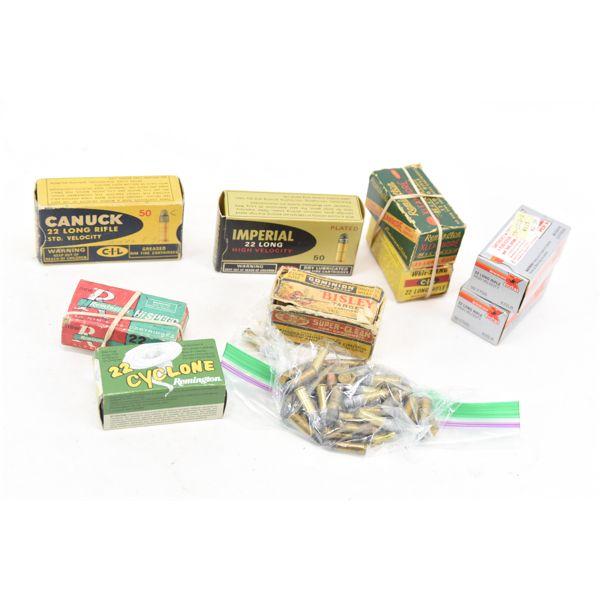 Box Lot Rimfire Ammunition