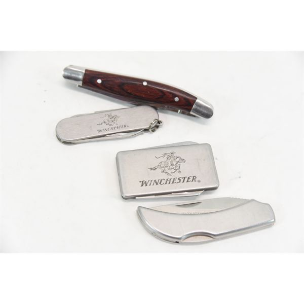 Box Lot Winchester Knives