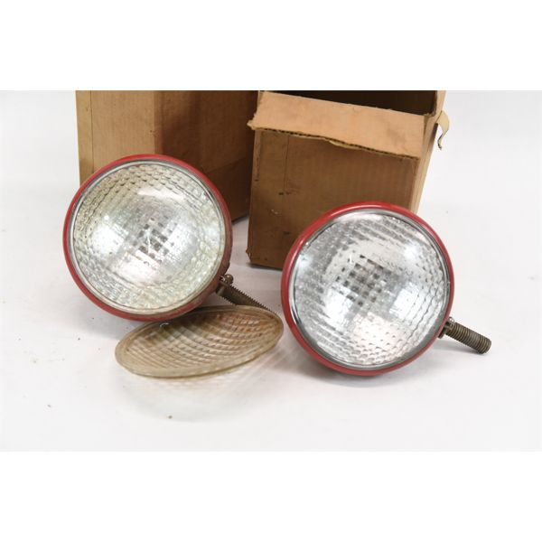 2 Tractor Guide Lights