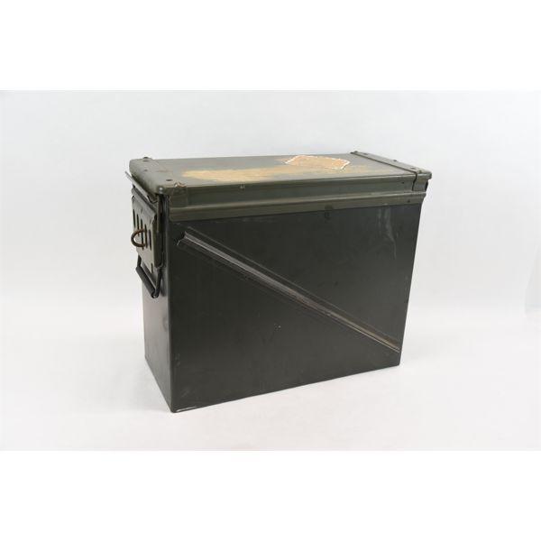 large Metal Ammo Can , Dual Lock lid