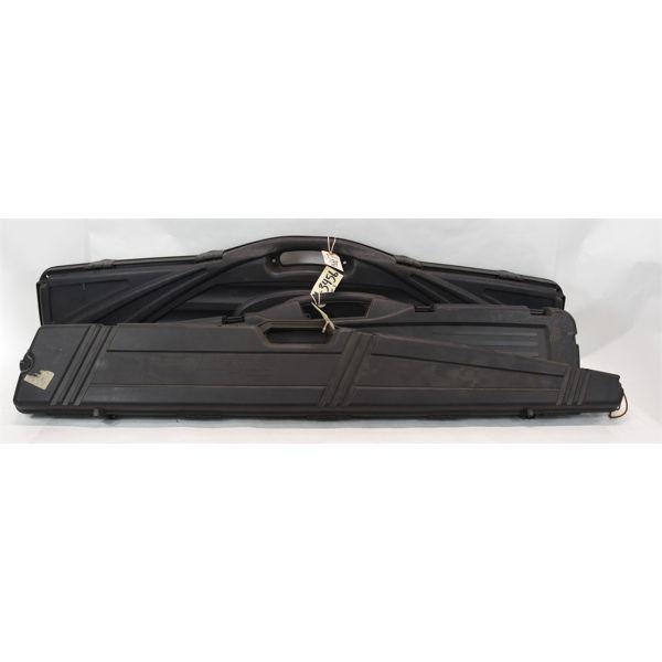 3 Hard Plastic Gun Cases