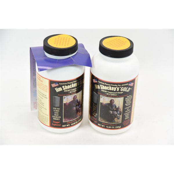 Jim Shockey's Gold Sticks Compressed .50 Cal Charges 2x 10oz Sealed