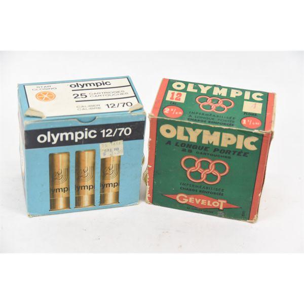 Box Lot Vintage 12 Gauge Ammunition