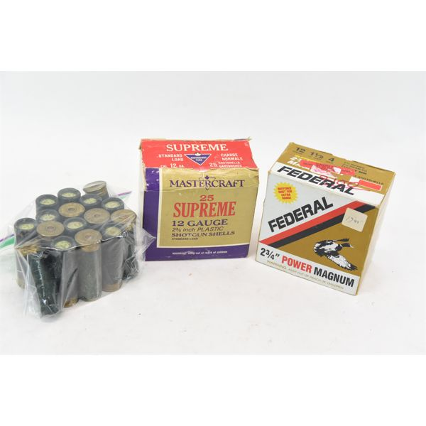Box Lot Vintage Ammunition