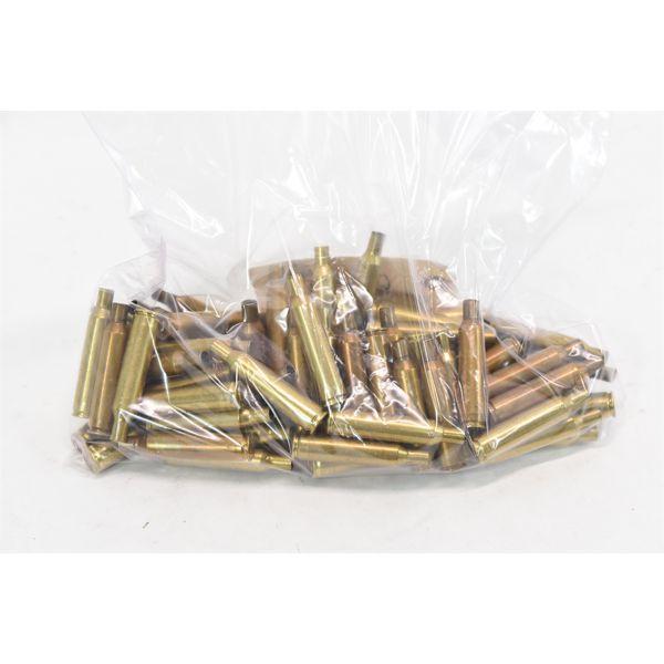 74 Pieces 6mm Rem Fired Brass