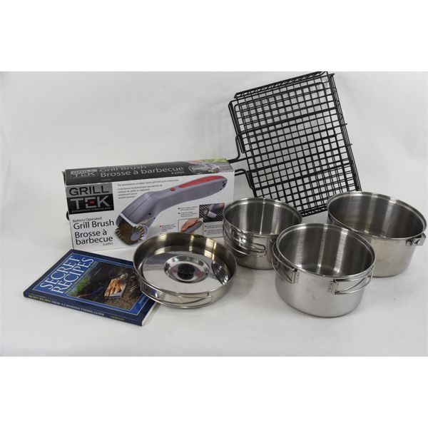 Box Lot Camping & Grilling Accessories