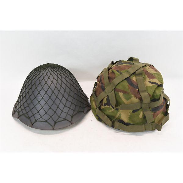 Box Lot Military Helmets