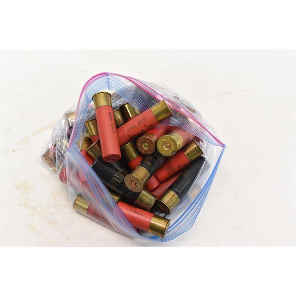 36 Assorted 3-1/2 & 2-3/4 12 Gauge Shotgun Shells