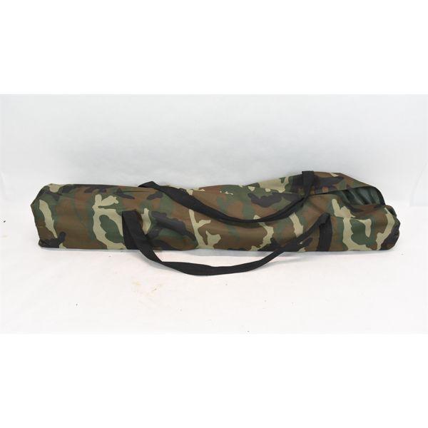 Camo Portable Folding Camping Cot w/ Carry Bag