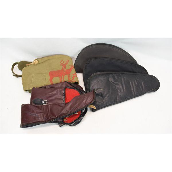 Box Lot Soft Gun Cases