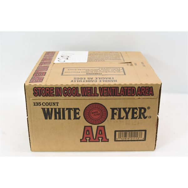 New Clay Targets White Flyer AA 135 Count