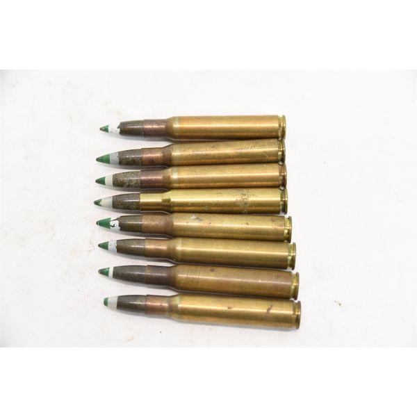 8 Rounds 30-06 Frangible Ammunition