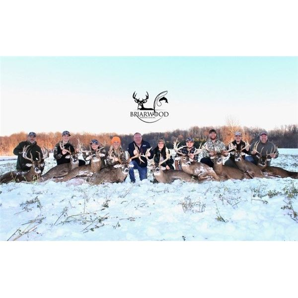 Briarwood Five Star Ohio Whitetail Hunt for Two Hunters