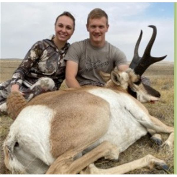 Wyoming Pronghorn Hunt - At Ease Hunting