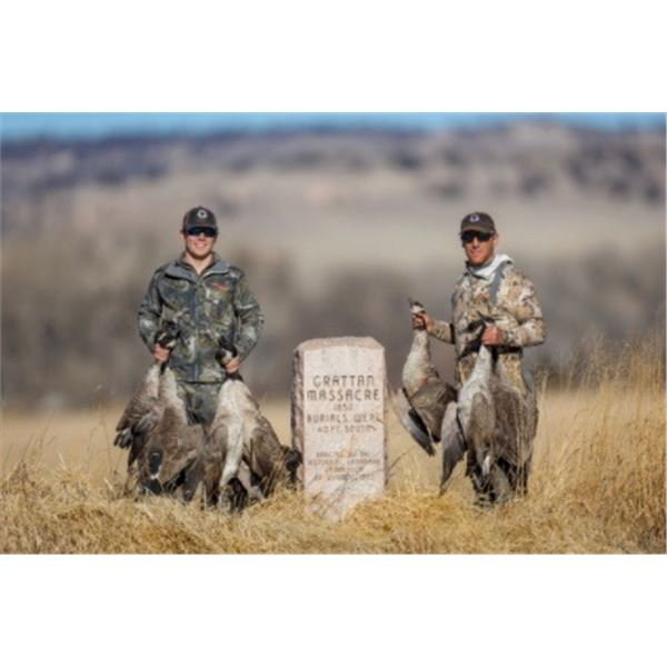 1-4 hunters Goose only for 2021, Duck or goose for 2022