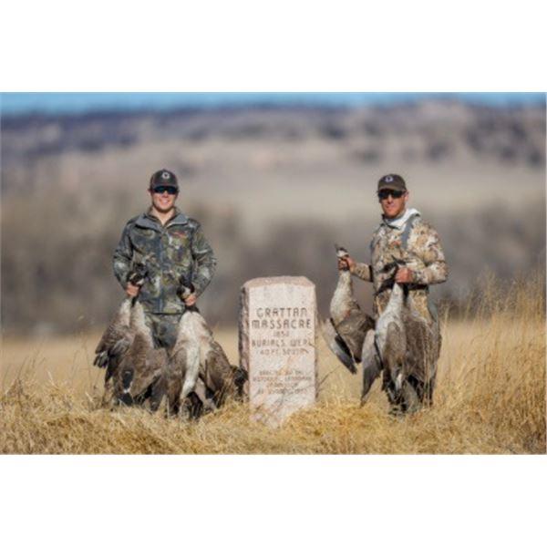 WyoBraska Waterfowl Hunt - 1-4 hunters Goose only for 2021, Duck or goose for 2022