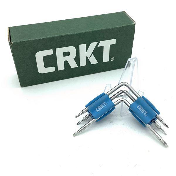 CRKT Twist and Fix Screwdriver Tool for Eyeglasses 9902, New