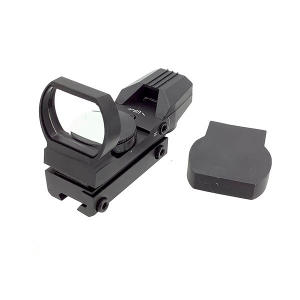 Reflex Sight With Dovetail Mount and Cover, New