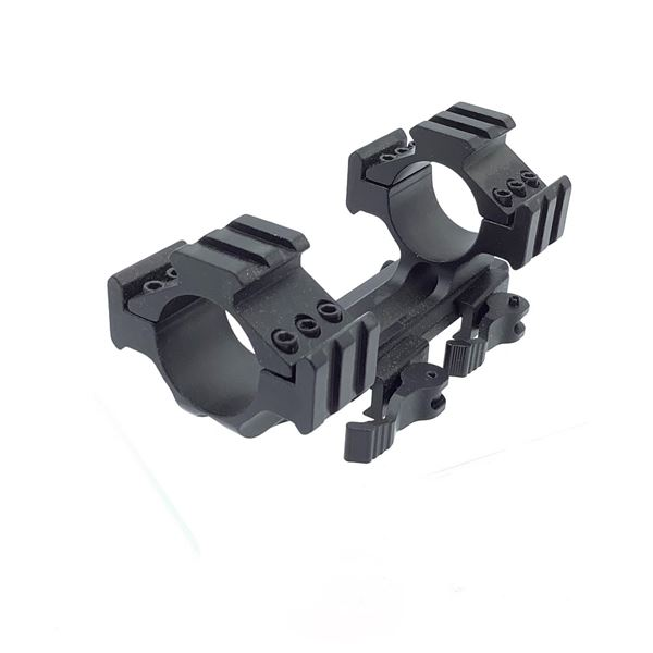 1 Piece Quick Detach Mount with Rings and Rails