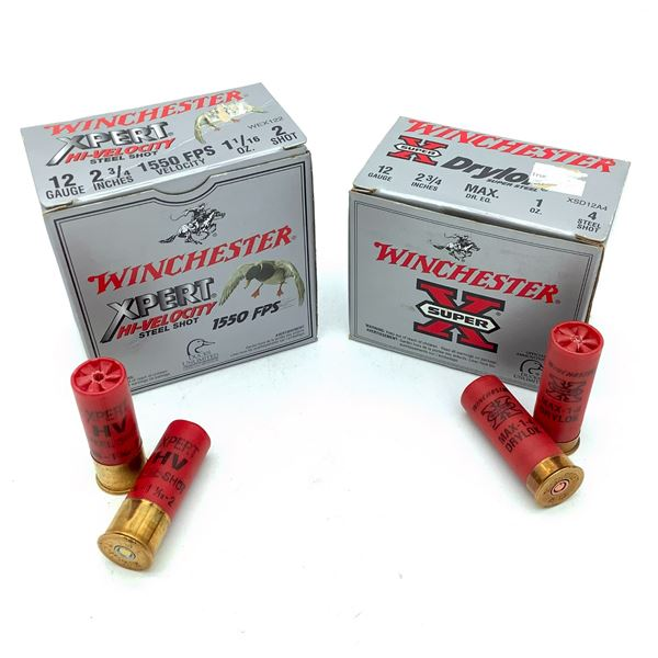 "Winchester 12 Ga 2 3/4"" Ammunition, 50 Rounds"