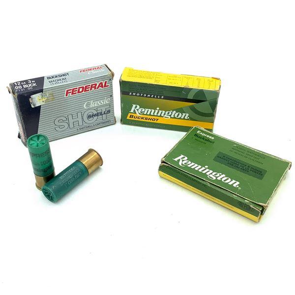 Assorted 12 Ga Buckshot Ammunition 11 Rounds