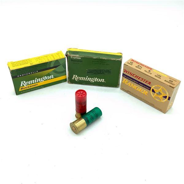 Assorted 12 Ga Buckshot Ammunition 13 Rounds