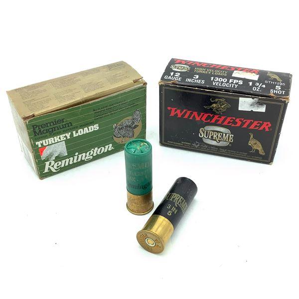 Assorted 12 Ga Turkey Ammunition, 14 Rounds