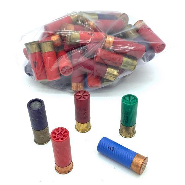 Assorted, Loose 12 Ga Ammunition, 54 Rounds