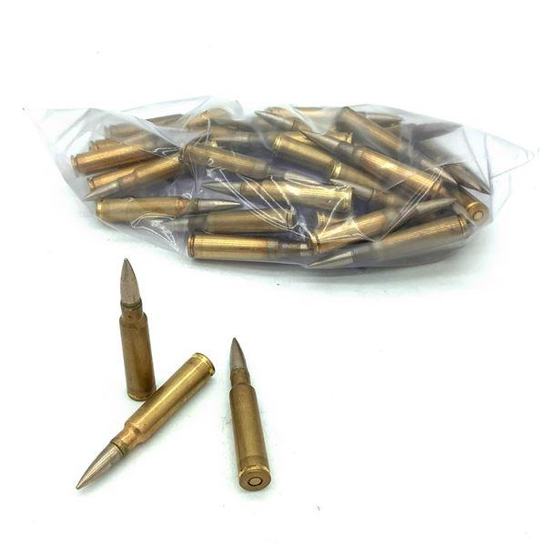 Loose 8mm Mauser FMJ Ammunition, 40 Rounds