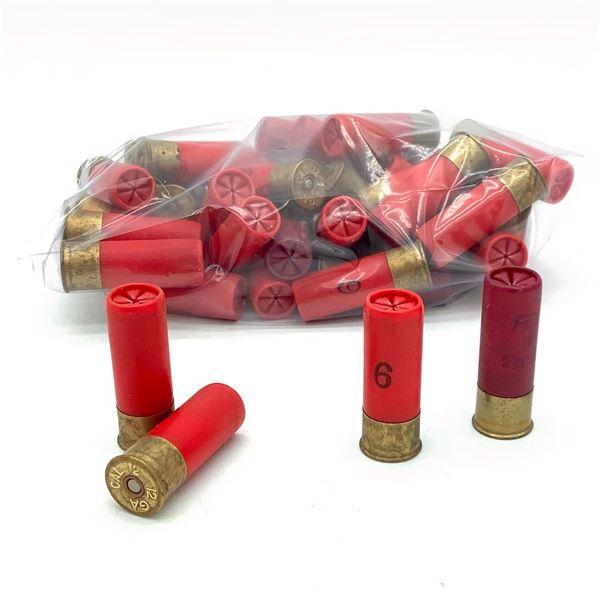 Loose Assorted 12 Ga 2 3/4 Ammunition, 39 Rounds